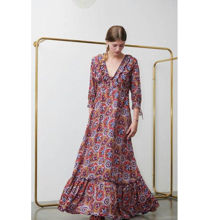 Antik Batik Antik Batik Multicolour Long Dress Sam
