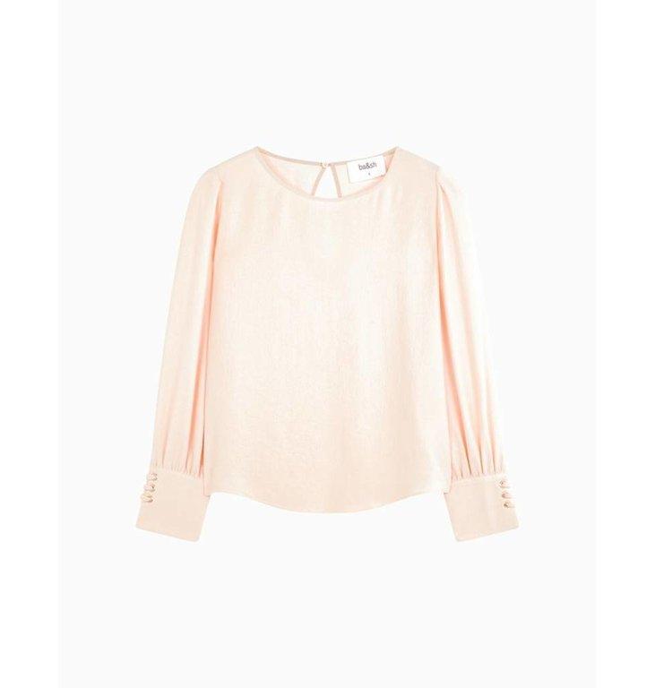 Ba&sh Ba&sh Soft Pink Blouse Camilla