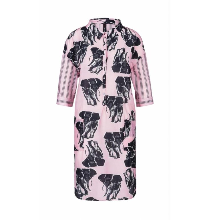 Marc Cain Marc Cain Pink Shirt Dress LC2149