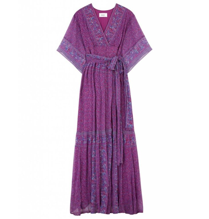 Ba&sh Ba&sh Purple Dress Maya