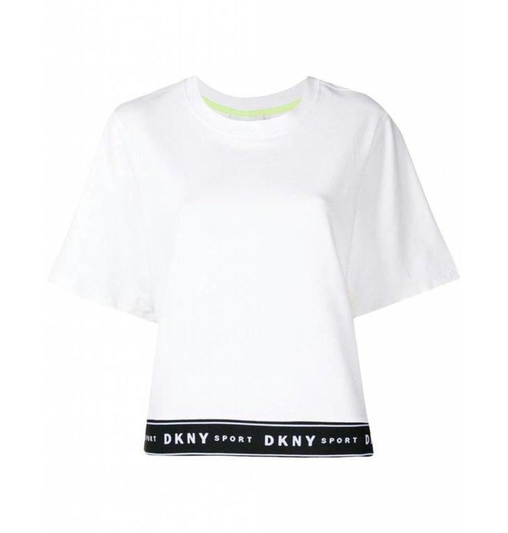 DKNY SPORT DKNY SPORT White T-shirt DP8T6181