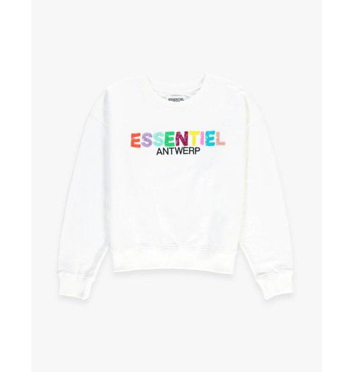 Essentiel Antwerp Essentiel Antwerp White Sweater Sagrada