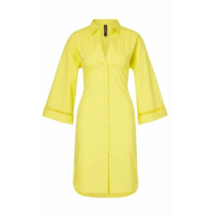 Marc Cain Marc Cain Yellow Shirt Dress LC2162