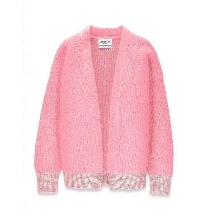 Essentiel Antwerp Essentiel Antwerp Pink Cardigan Surabaya3