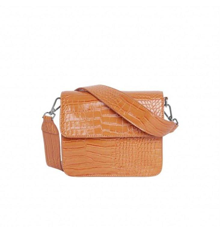 Hvisk Hvisk Orange Bag Cayman Shiny Strap