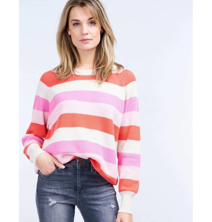 Repeat Repeat Pink/Multicolour Knit 400179