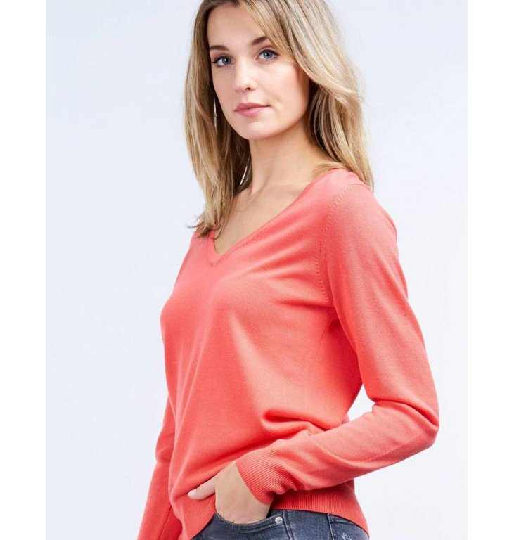 Repeat Repeat Orange Knit 400056
