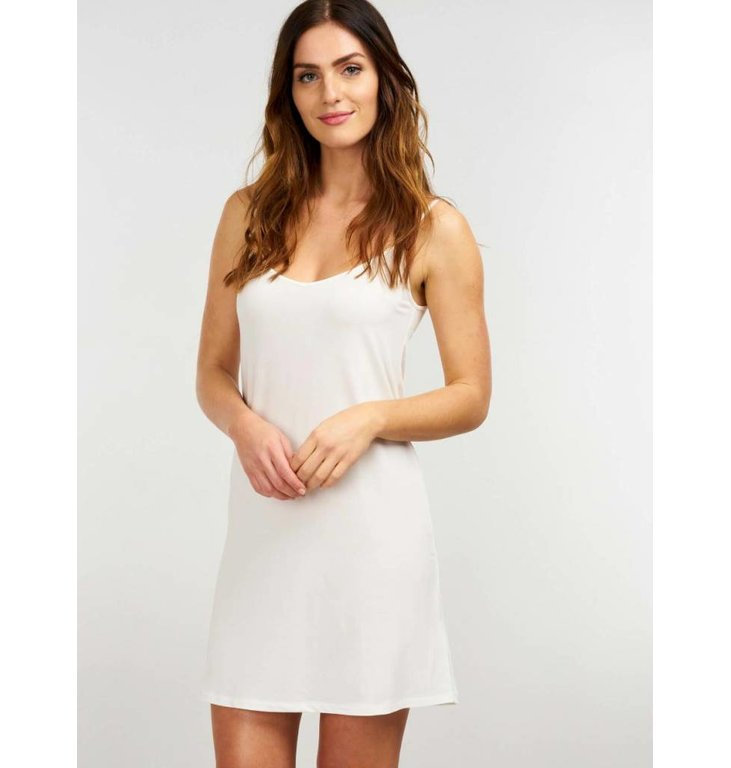 Repeat Repeat Ecru Slip Dress 500095