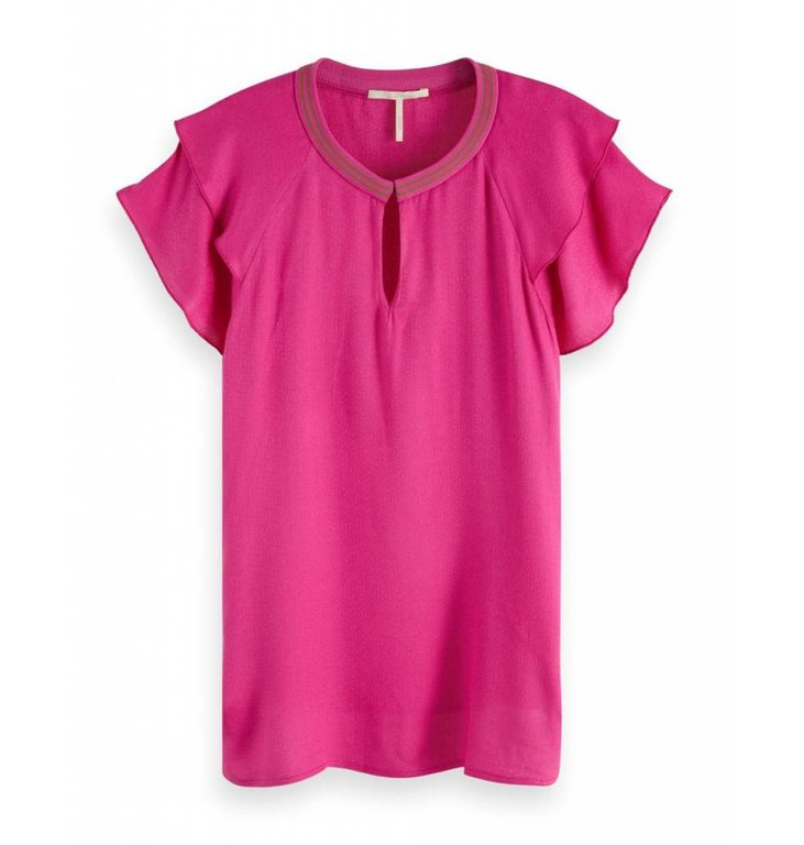 Maison Scotch Maison Scotch Pink Top 149820
