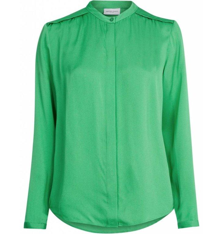 Fabienne Chapot Fabienne Chapot Green Blouse Sunset Solid