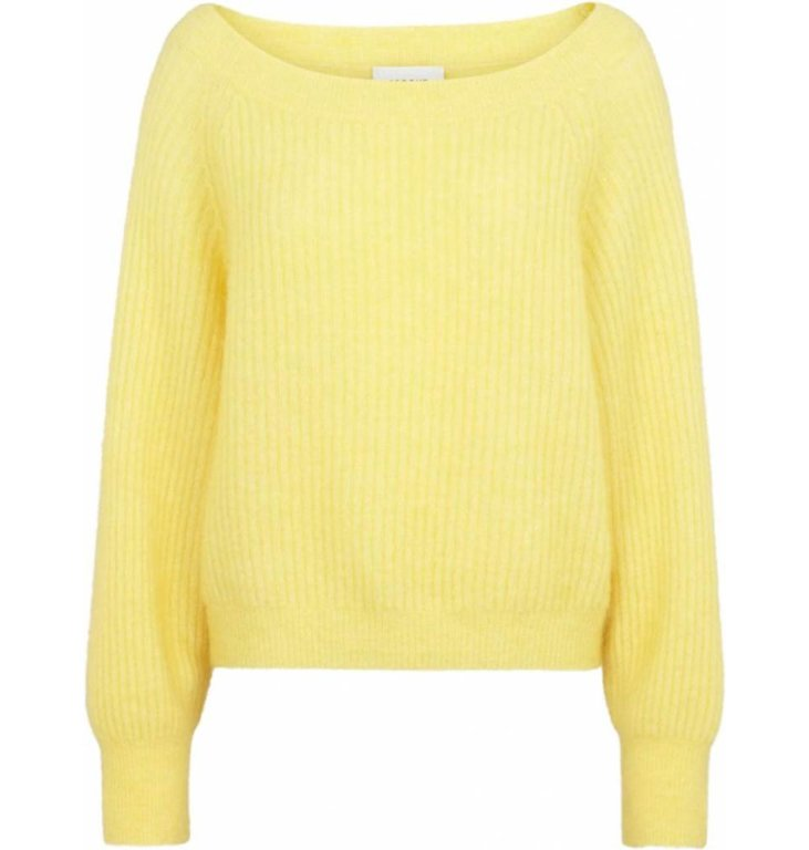 Second Female Second Female Yellow Off Shoulder Knit Galis
