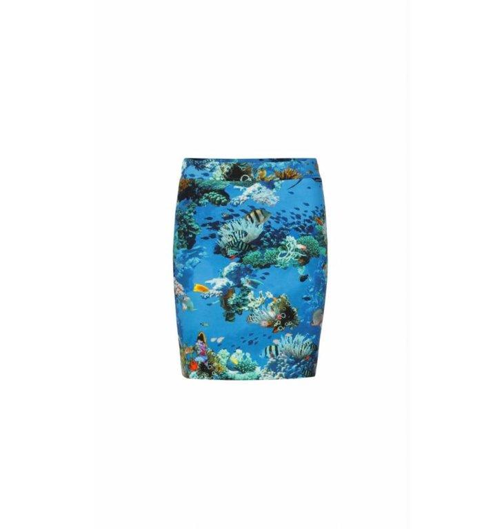 Marc Cain Marc Cain Blue Skirt LS7126