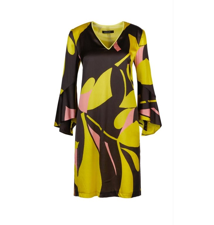 Marc Cain Marc Cain Brown Dress LC2125