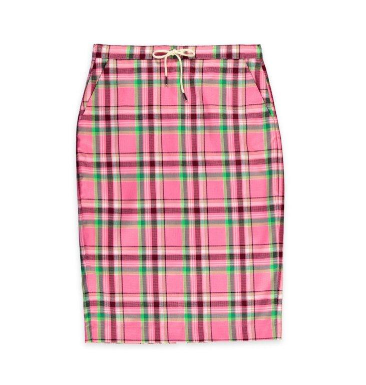 Essentiel Antwerp Essentiel Antwerp Pink Plaid Skirt Sigma