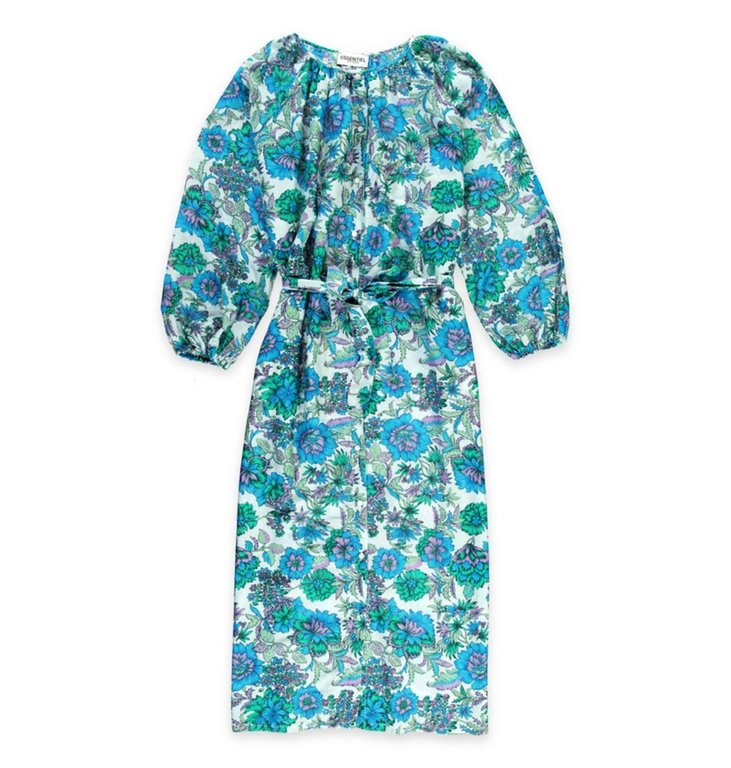 Essentiel Antwerp Essentiel Antwerp Turquoise Dress Skilled