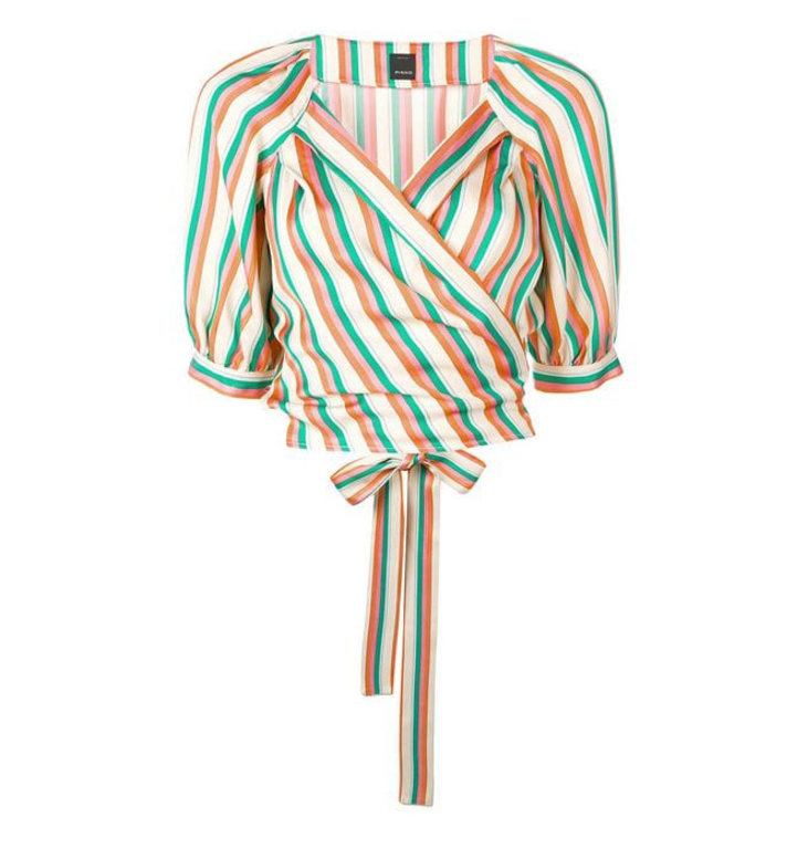 Pinko Pinko Striped Blouse Rosanna