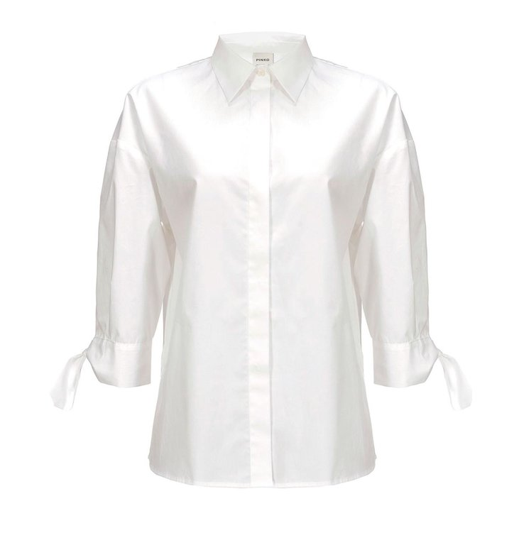 Pinko Pinko White Blouse Facile1