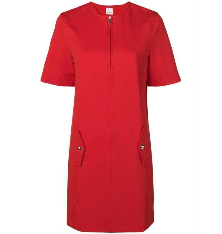 Pinko Pinko Red Dress Forzuto