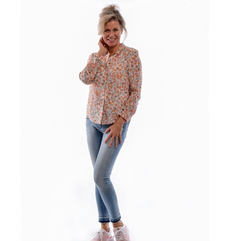 Yoga Jeans Yoga Jeans Denim Blue Mide-Rise Skinny Rachel
