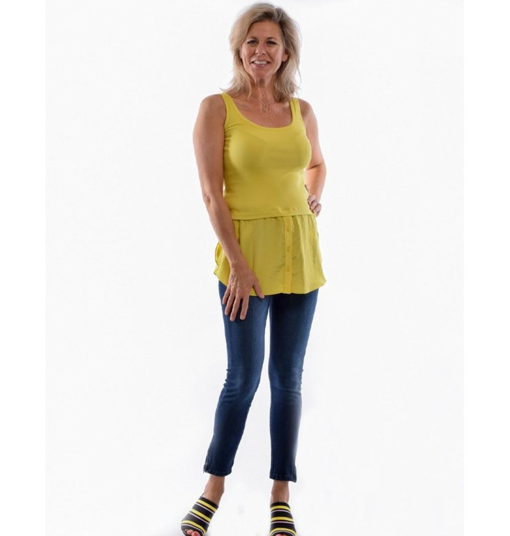 Marc Cain Marc Cain Yellow Top LS6101