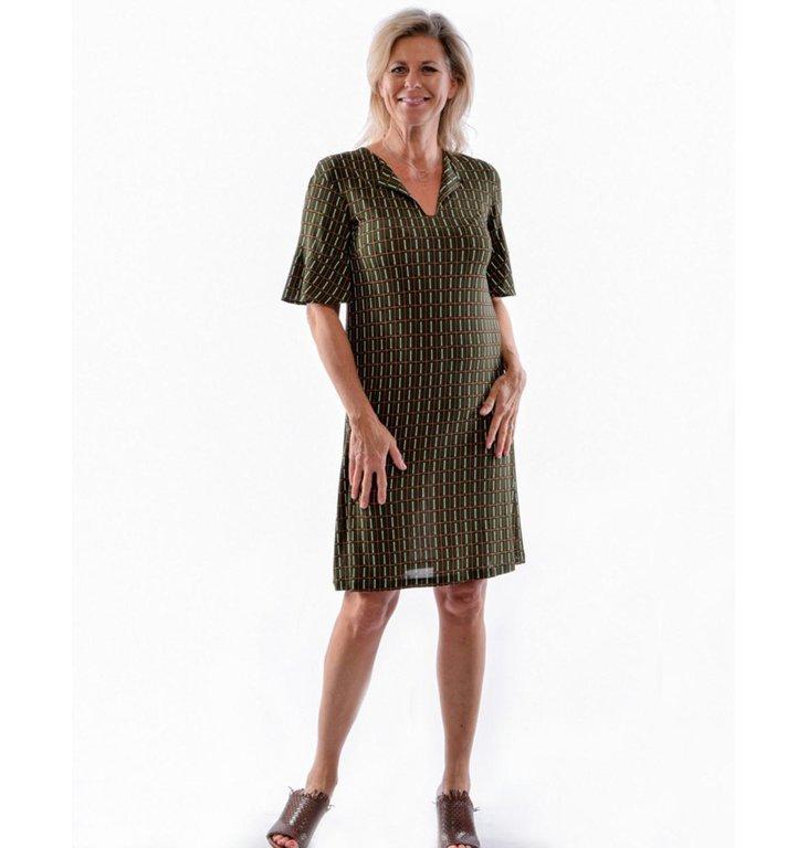 Siyu Siyu Green Woven Dress Alnus 18