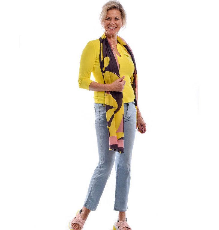 Marc Cain Marc Cain Yellow Top LC4139