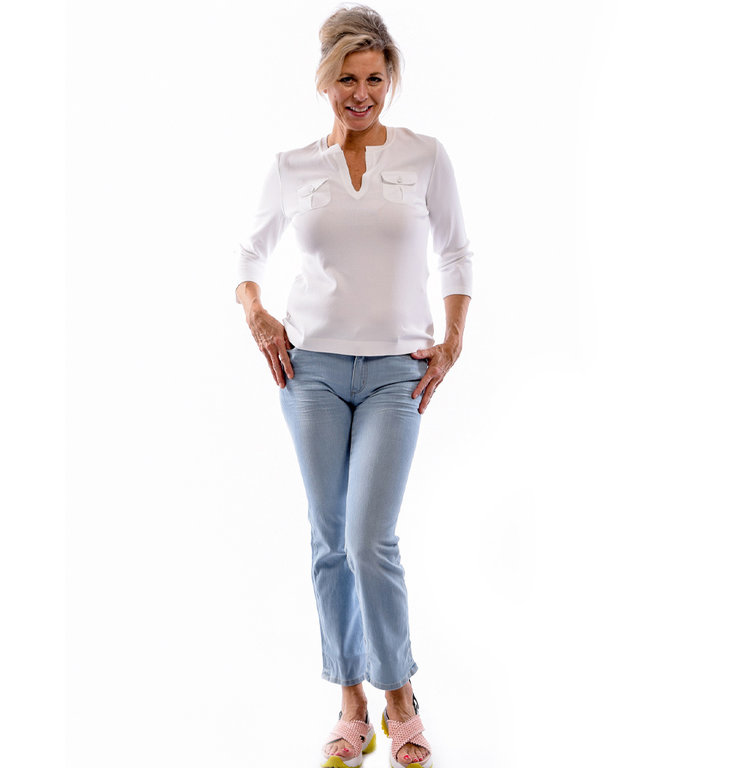 Marc Cain Marc Cain White Top LC4139