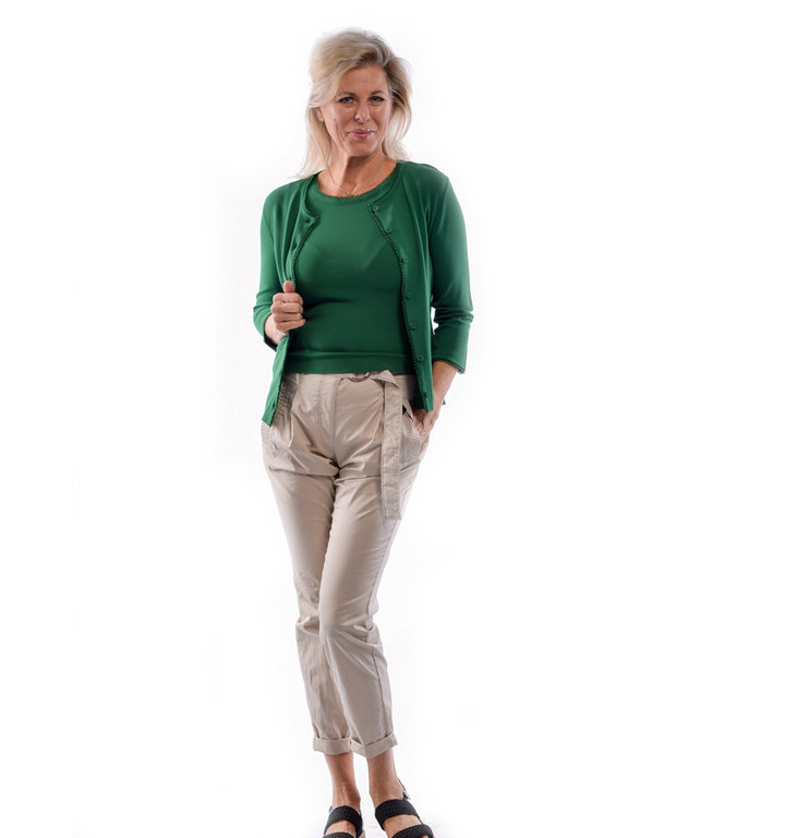 Marc Cain Marc Cain Green Cardigan LC3102