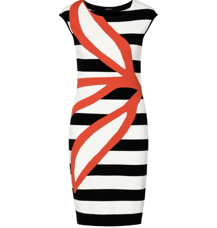 Marc Cain Marc Cain Striped Dress LC2154