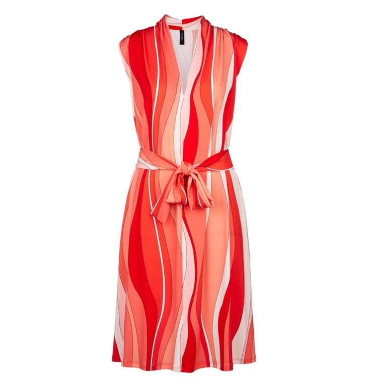 Marc Cain Marc Cain Red Dress LC2158