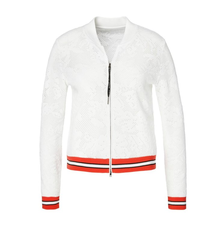 Marc Cain Marc Cain White Jacket LC3154