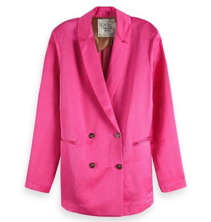 Maison Scotch Maison Scotch Pink Blazer 150037