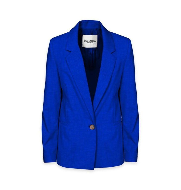 Essentiel Antwerp Essentiel Antwerp Blue Blazer Sincerely