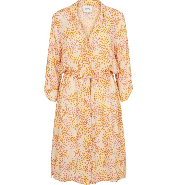 Second Female Second Female Ecru Dandelion Shirtdress 52373