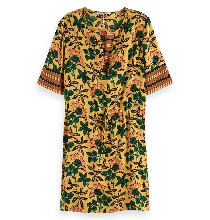 Maison Scotch Maison Scotch Yellow Printed Dress 149839