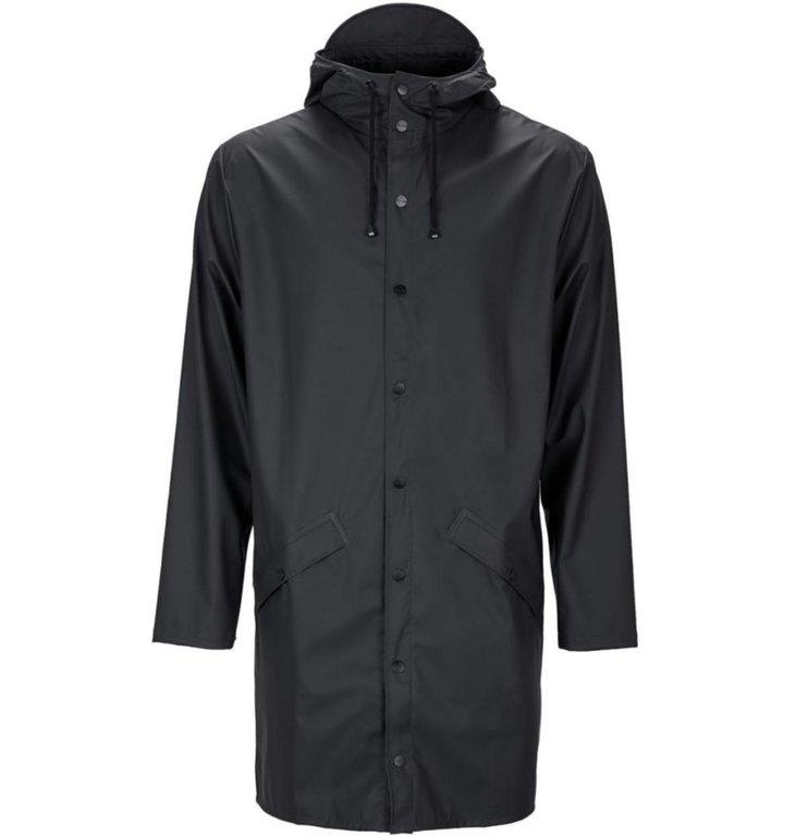 Rains Rains Black Long Jacket 1202