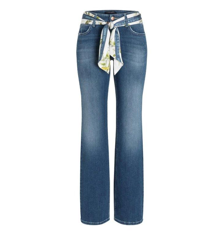 Cambio Cambio Denim Blue Tess Wide Leg Jeans 9159