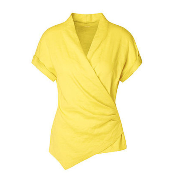 Marc Cain Marc Cain Yellow Blouse LC5603