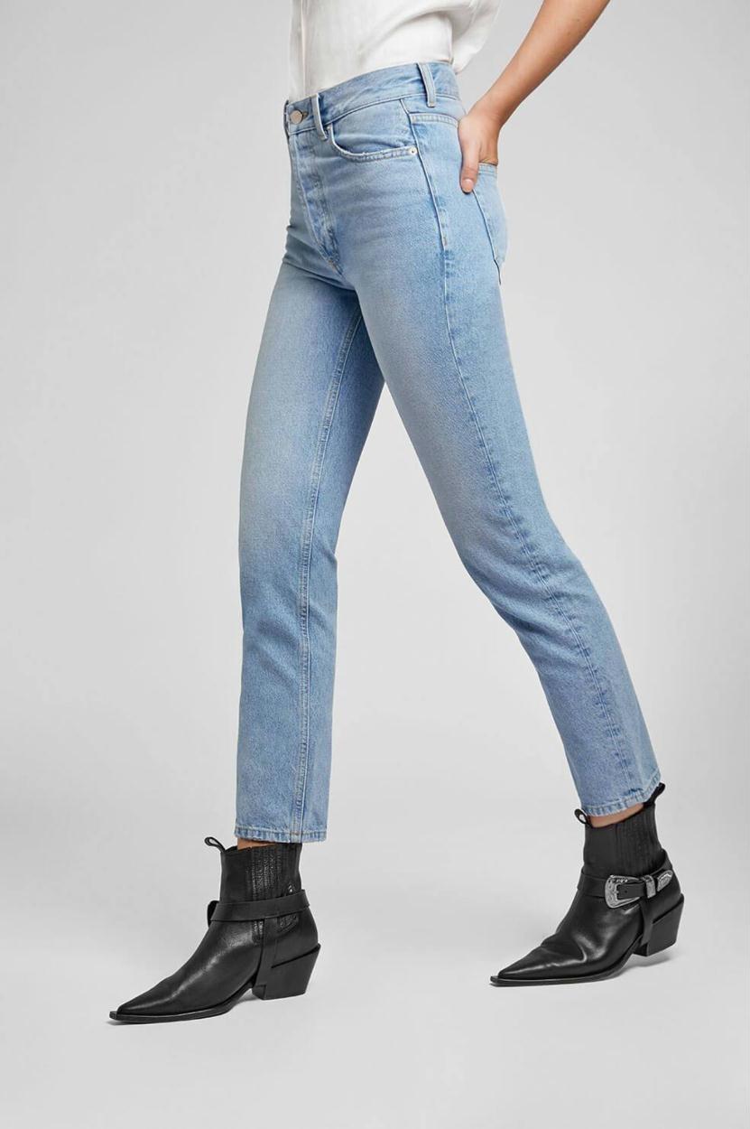 Anine Bing Denim Blue Peyton Jeans AB30