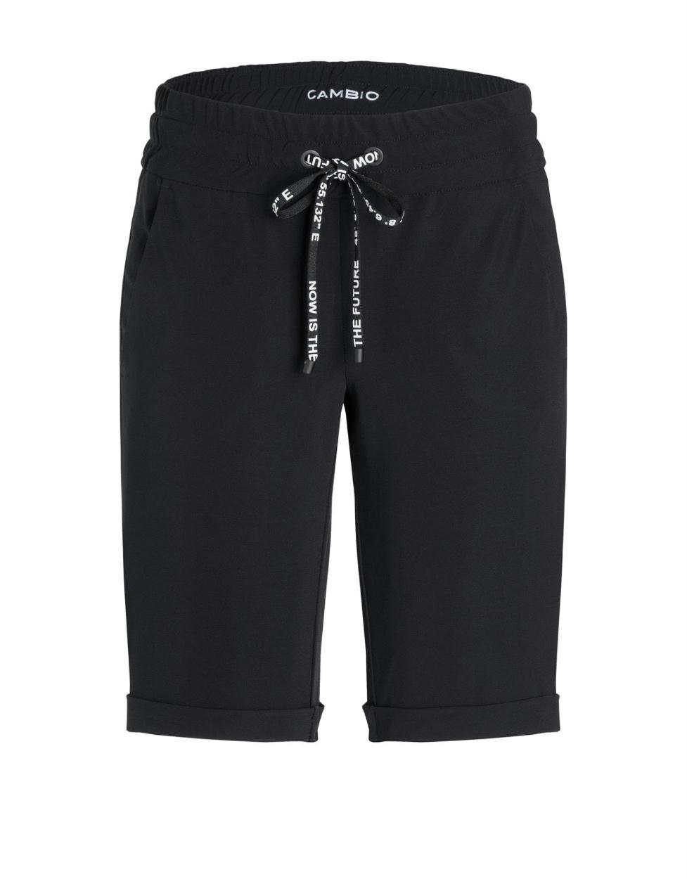Cambio Black Jilian Shorts 6320
