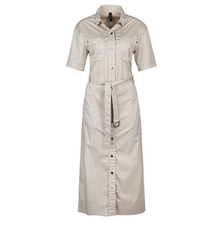 Marc Cain Marc Cain Beige Long Dress LS2122