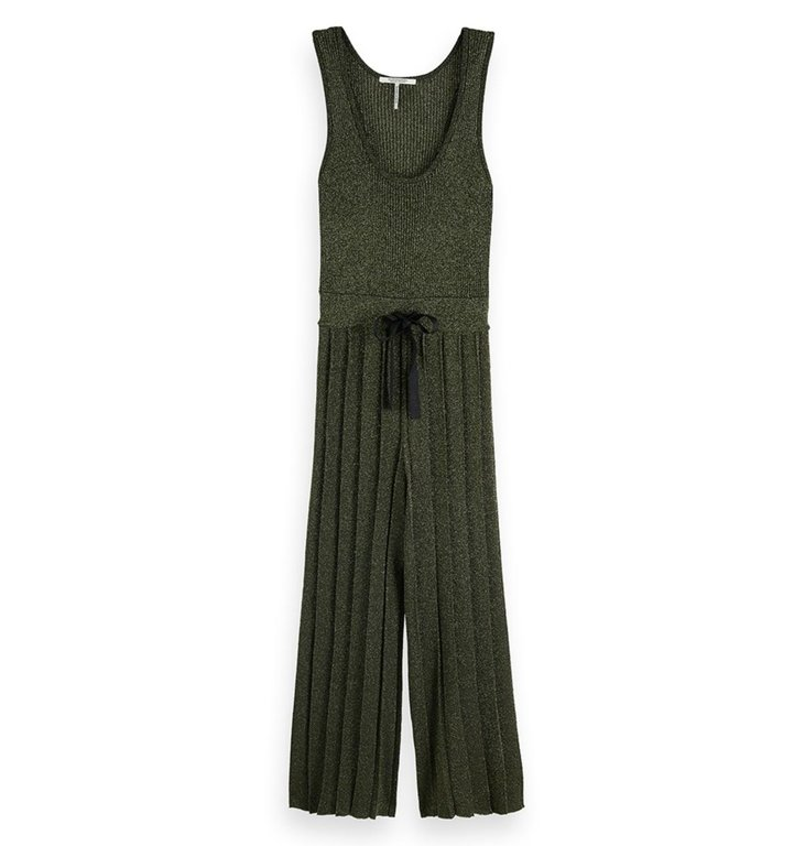 Maison Scotch Maison Scotch Green Jumpsuit 150285
