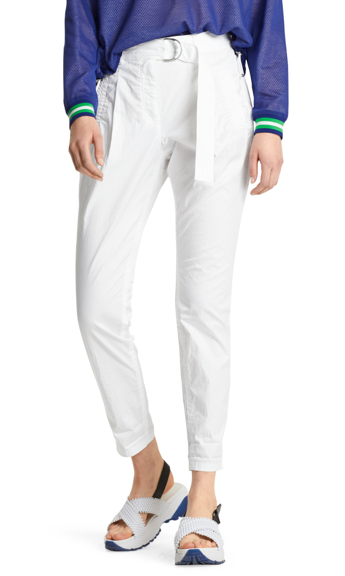 Marc Cain White Pantalon LS8125