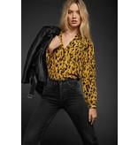 Anine Bing Leopard Lilah Shirt AB44