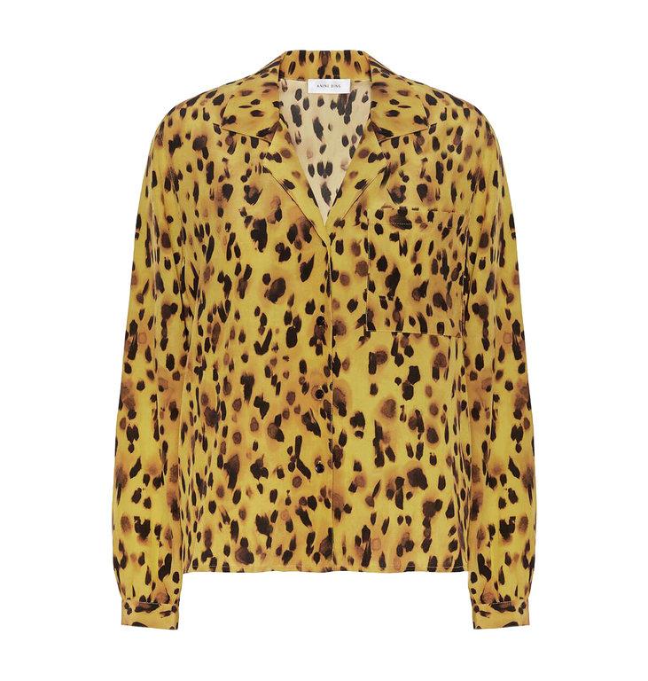Anine Bing Anine Bing Leopard Lilah Shirt AB44