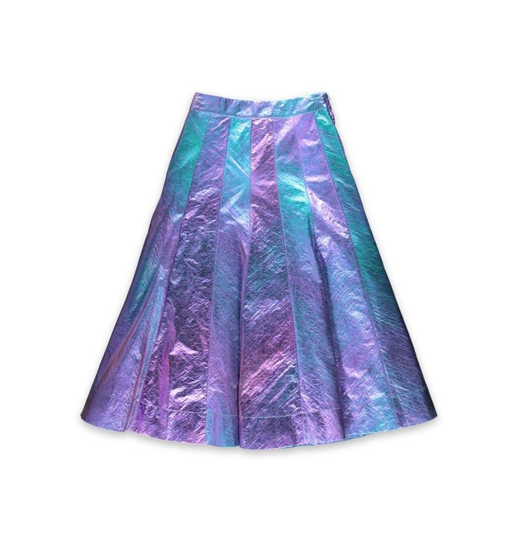 Essentiel Antwerp Essentiel Antwerp Purple Skirt Twilighting