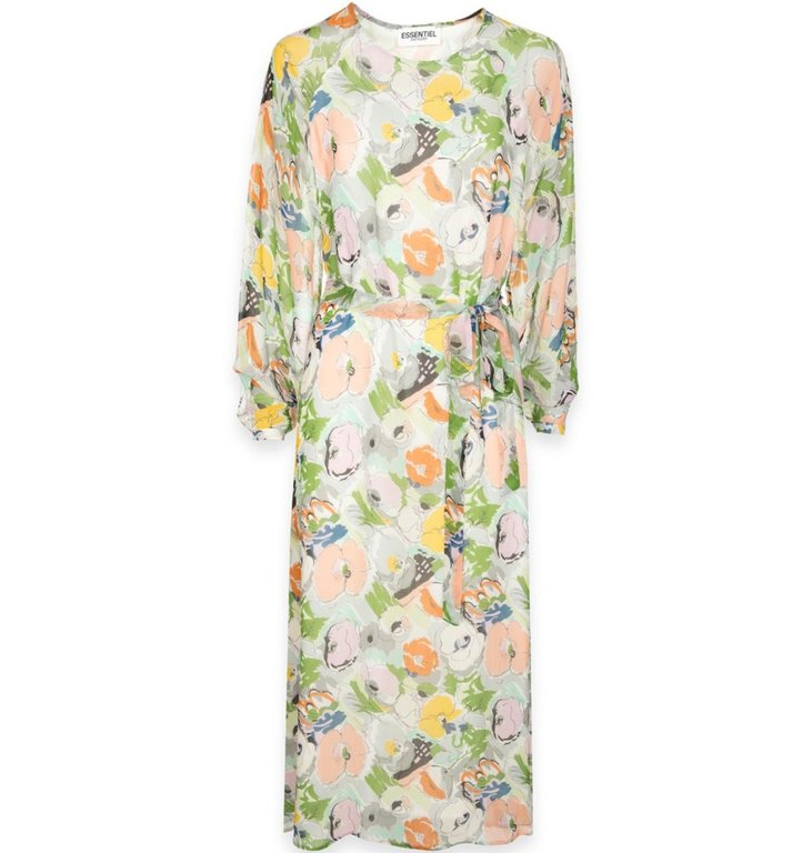 Essentiel Antwerp Essentiel Antwerp Floral Dress Trex