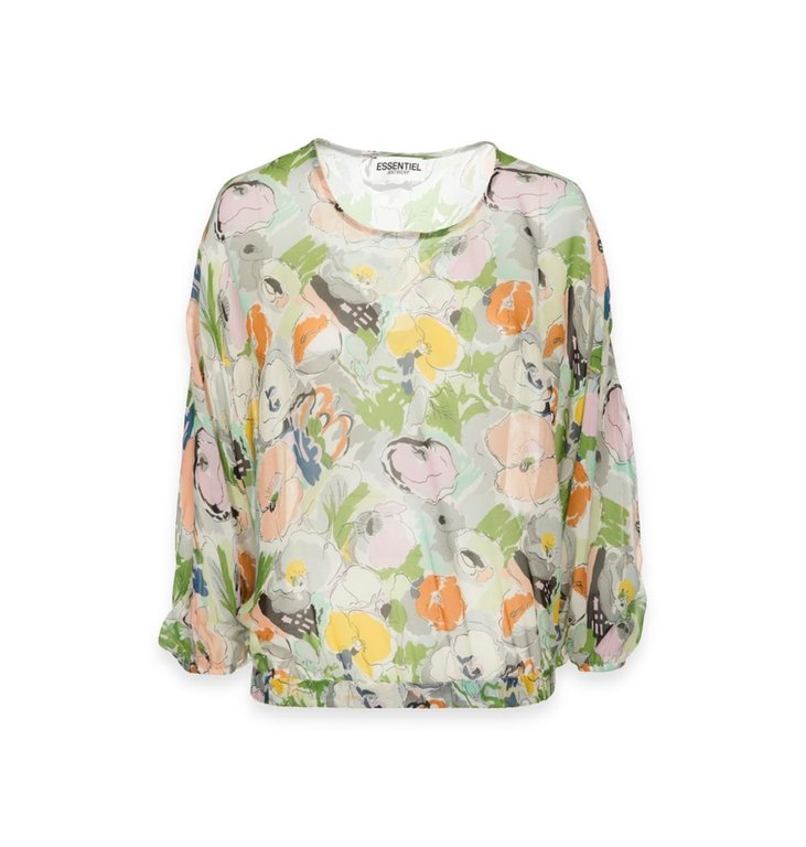 Essentiel Antwerp Essentiel Antwerp Floral Blouse Tristory