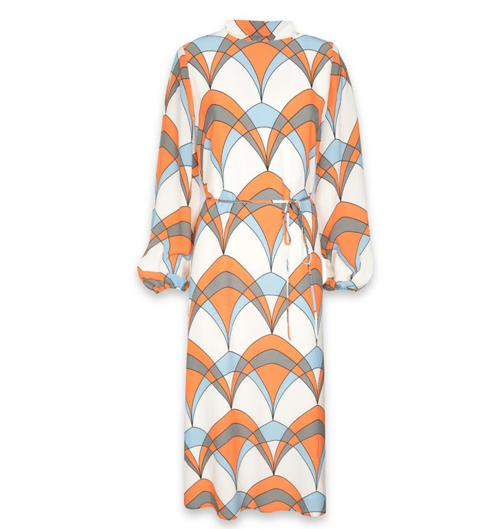 Essentiel Antwerp Essentiel Antwerp White Retro Print Dress Tanterachel