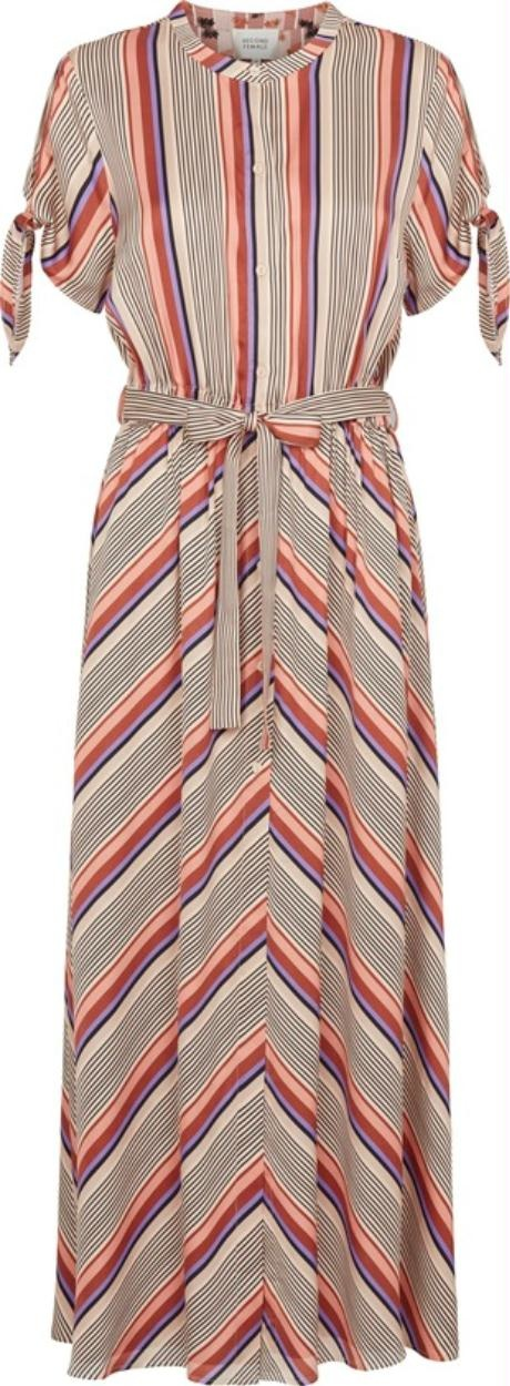 Second Female Multicolour Slow SS Maxi Dress 52375